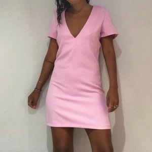 Pink Dress - Tobi